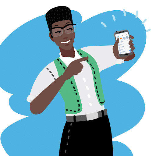 Pourquoi créer un avatar pour votre CM ? Ibou est l'avatar du Community Manager de Orange.
